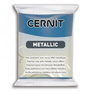 Cernit Metallic 200 (синий) 56г.